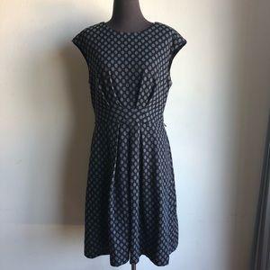Maggy London sz 14 work career sheath dress